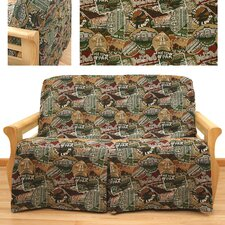 Travel Skirted Futon Cover
