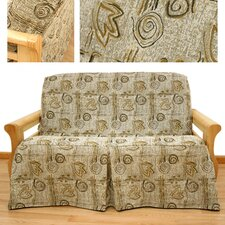 Melody Skirted Futon Cover