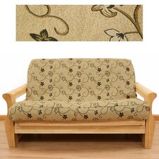 <strong>Easy Fit</strong> Charlotte 5 Piece Full Futon Cover Set