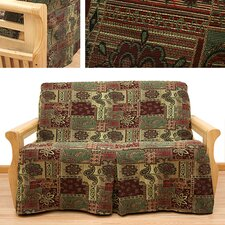 Arabian 5 Piece Full Skirted Futon Cover Set