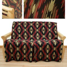 Cherokee 5 Piece Full Skirted Futon Cover Set