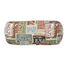 Road Trip Cotton Bolster Pillow