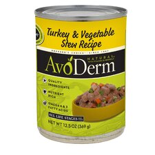 Natural Turkey and Vegetable Stew Recipe Wet Dog Food (12.5-oz, case of 12)
