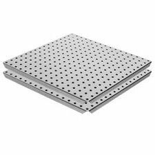 Pegboard Panel with Flange