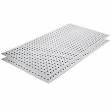 <strong>Alligator Board</strong> Metal Pegboard Panel Kit without Flange/Gloves