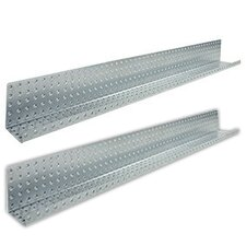 "48"" x 3"" Metal Pegboard Shelves"