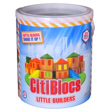 Little Builders Rattle Building Block Set