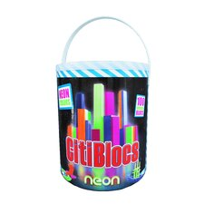<strong>Citiblocs</strong> 100 Piece Neon Colors Construction Set