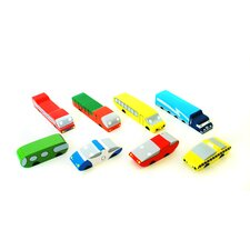 <strong>Citiblocs</strong> 8 Piece Citicars Set
