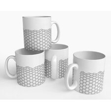 Hex Cell Mug (Set of 4)