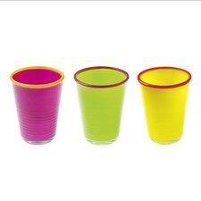 10,6 cm Gläserset Colore (Set beinhaltet 3)