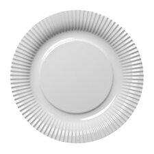 "4-tlg. Teller ""Picnic Fast Food"" in Weiß"