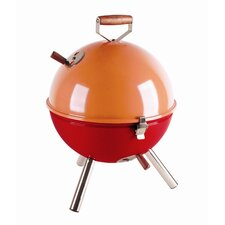 "Minigrill ""Mini BBQ"" in Rot / Orange"
