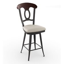 "Countryside Style 30"" Cynthia Swivel Bar Stool"
