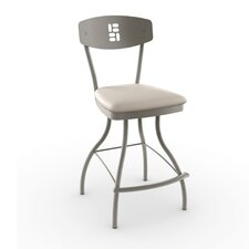 "Urban Style 30"" Domino Swivel Bar Stool"
