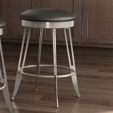 "<strong>Amisco</strong> Library Luxe Style 30"" Phylo Swivel Bar Stool"