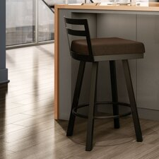 "<strong>Amisco</strong> Urban Style 26"" Derek Swivel Bar Stool"