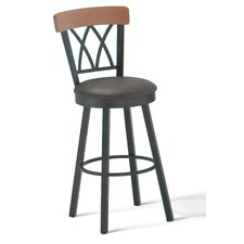 "Brittany 30"" Swivel Barstool with Memory Return"