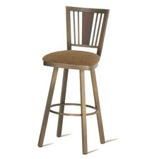 "Madison 30"" Swivel Barstool with Memory Return"