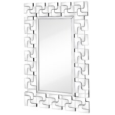 Contemporary Beveled Mirror Panels