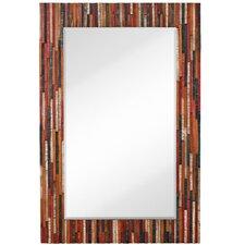 Mixed Media Beveled Wall Mirror