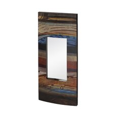 Mixed Media Rectangular Wall Mirror