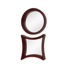 Contemporary Wall Mirror (Set of 2)