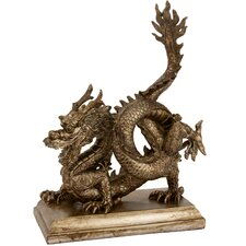 <strong>Oriental Furniture</strong> Chinese Dragon Figurine