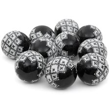 <strong>Oriental Furniture</strong> Decorative Ball (Set of 10)