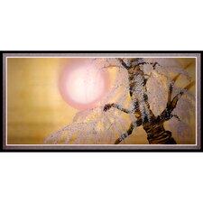 Sakura Blossoms Framed Painting Print