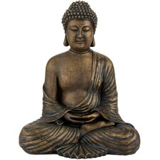 <strong>Oriental Furniture</strong> Japanese Sitting Buddha Figurine