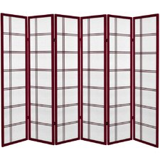 "71"" Double Cross Room Divider"