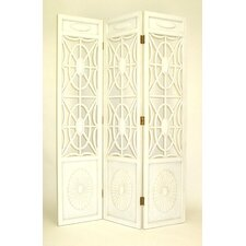 Spider Web Room Divider in White