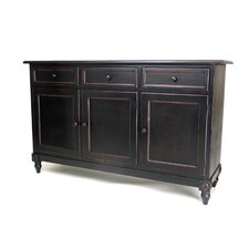 <strong>Oriental Furniture</strong> Brookfield 3 Drawer Console Cabinet