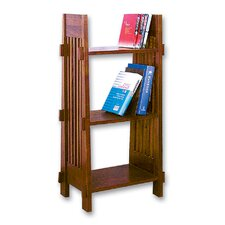 Bookstand Shelf Unit in Medium Gloss