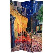 "70.88"" x 47.25"" Works of Van Gogh 3 Panel Room Divider"