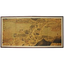 Ching Ming Festival 4 Panel Room Divider