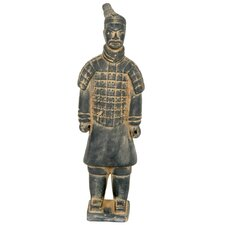 "14"" Xian Terra Cotta Warrior Statue"