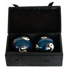 2 Piece Bagua Health Decorative Ball Set