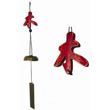 <strong>Oriental Furniture</strong> Five Elements Wood Wind Chime