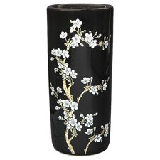 <strong>Oriental Furniture</strong> Flower Blossom Umbrella Stand