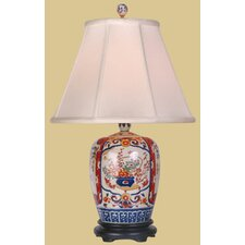 "Imari Jar 25"" H Table Lamp with Empire Shade"
