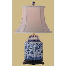 "Jar 23"" H Floral Table Lamp"