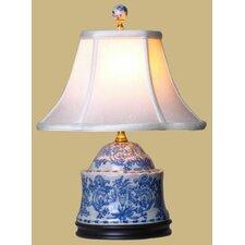 "Porcelain Jar 17"" H Table Lamp"