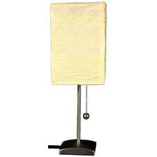 "Yoko 17"" H Table Lamp with Rectangle Shade"