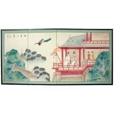 """36"""" x 72"""" Lovers View 4 Panel Room Divider"""