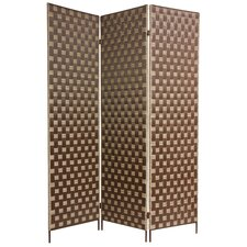 "71"" x 54"" Island Outdoor 3 Panel Room Divider"