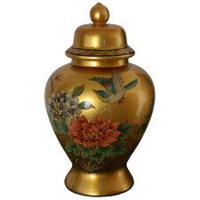 <strong>Oriental Furniture</strong> Temple Decorative Urn