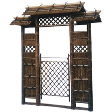 <strong>Oriental Furniture</strong> Japanese Style Zen Garden Gate