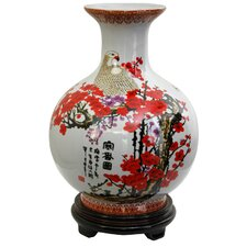 <strong>Oriental Furniture</strong> Cherry Blossom Vase